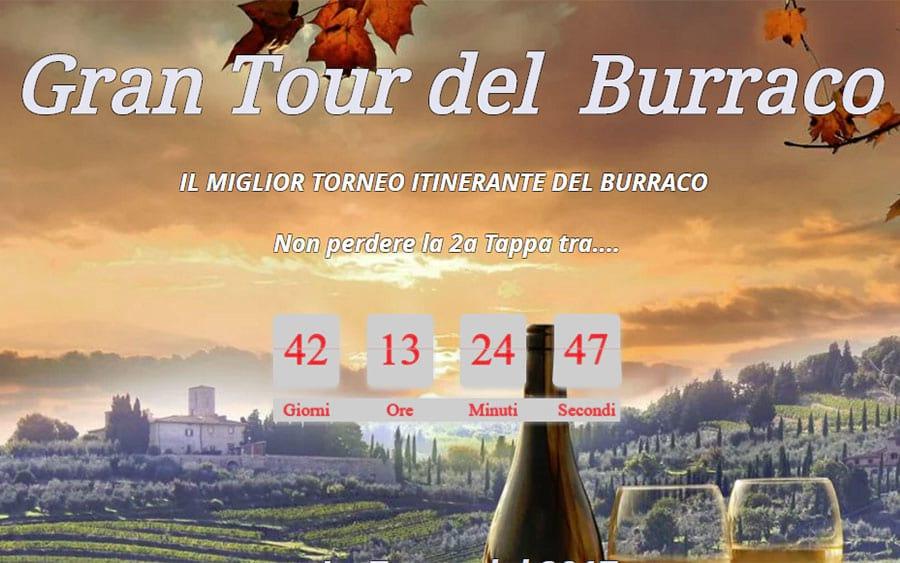 Gran Tour del  Burraco: cos'è e le tappe previste